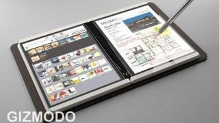 Tras más de 10 años de rumores, Microsoft podría sacar un Surface con doble pantalla. Imagen: Gizmodo