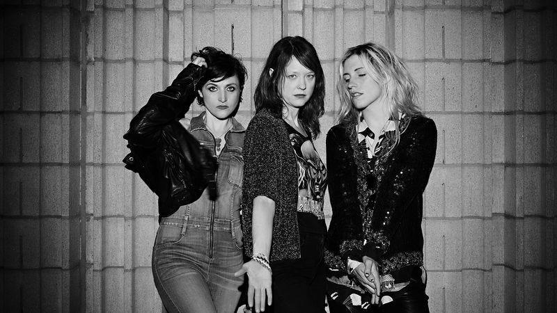 Ex Hex's Betsy Wright, Mary Timony, and Laura Harris (Photo by Jonah Takagi)