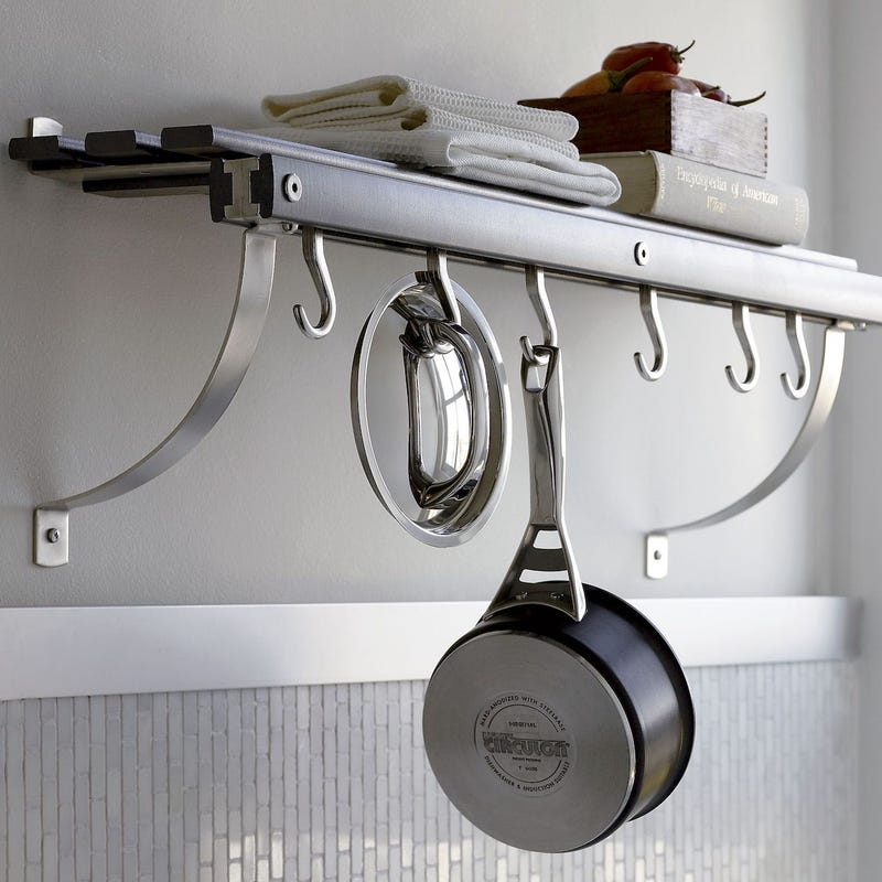 J.K. Adams Wall Mounted Pot Rack