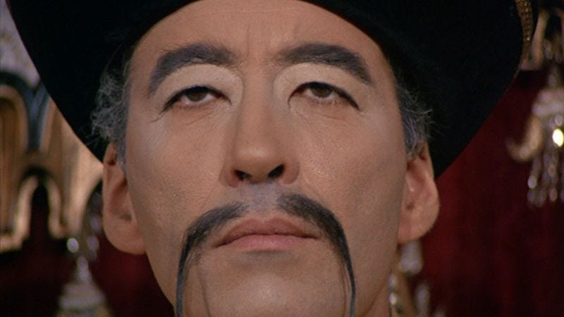 The Fu Manchu series could nev...