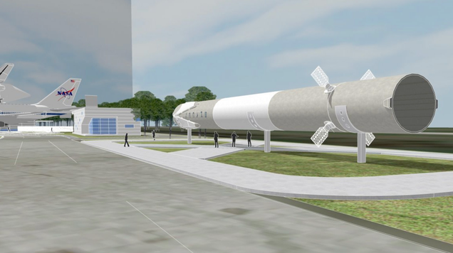 You'll Soon Be Able to See a Twice-Flown SpaceX Falcon 9 Up-Close in Houston