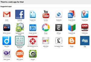 """Illustration for article titled """"There's a Web App for That"""" Suggests Chrome Apps Based on Your Browsing History"""