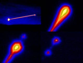 Illustration for article titled Video of Airborne Laser Destroying a Ballistic Missile