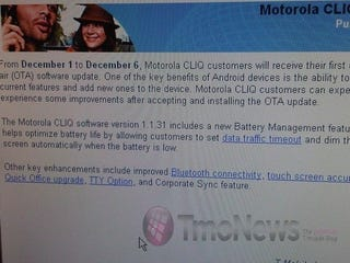 Illustration for article titled Motorola CLIQ OTA Update Available Now