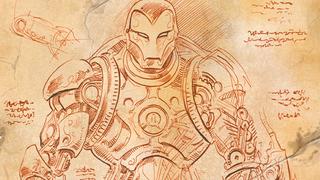 ¿Y si Da Vinci hubiera diseñado la armadura de Iron Man?