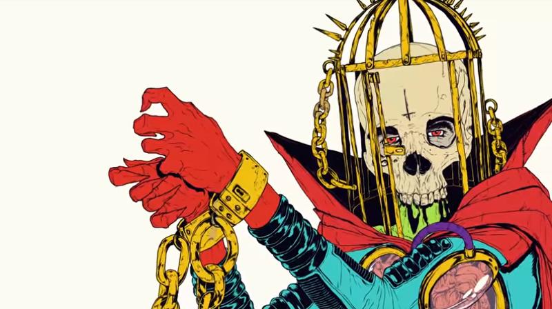 Look at dat Boneface art tho (No More Heroes: Travis Strikes Again)