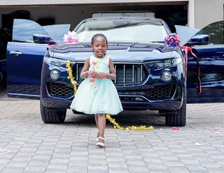 Illustration for article titled Pastor Buys 6-Year Old Daughter a $125,000 Maserati for Her Birthday