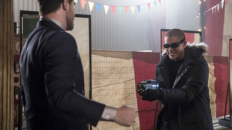 Grey Damon, Wentworth Miller/The CW