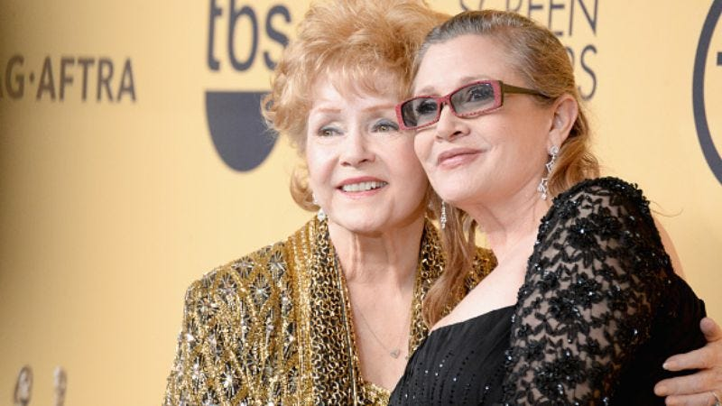 Mother and daughter: Debbie Reynolds and the late Carrie Fisher (Photo: Jeff Kravitz/Getty Images)