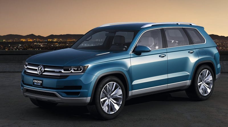Volkswagen Has Spent The Past Few Years Teasing Similar Looking Large Crossover Suv Concepts With Names Like Crossblue And Crosscoupe Gte But When That