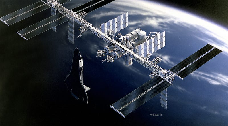 Illustration for article titled 16 Names NASA Considered For The 1980s Space Station That Never Was