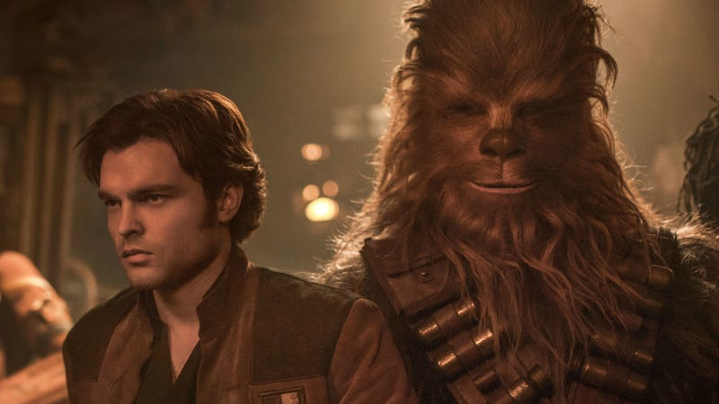 We finally get to see how Han and Chewie met in Solo: A Star Wars Story.