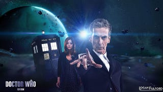 Illustration for article titled Fan Poster In New Doctor Who Episode
