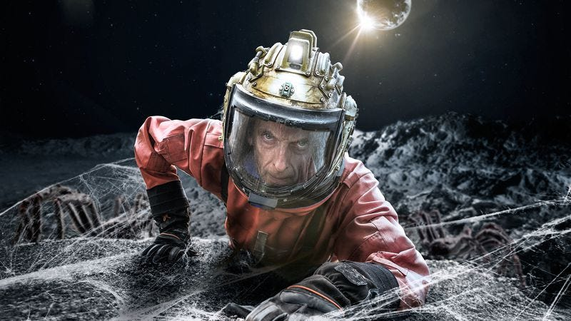 """Illustration for article titled Doctor Who: """"Kill The Moon"""""""