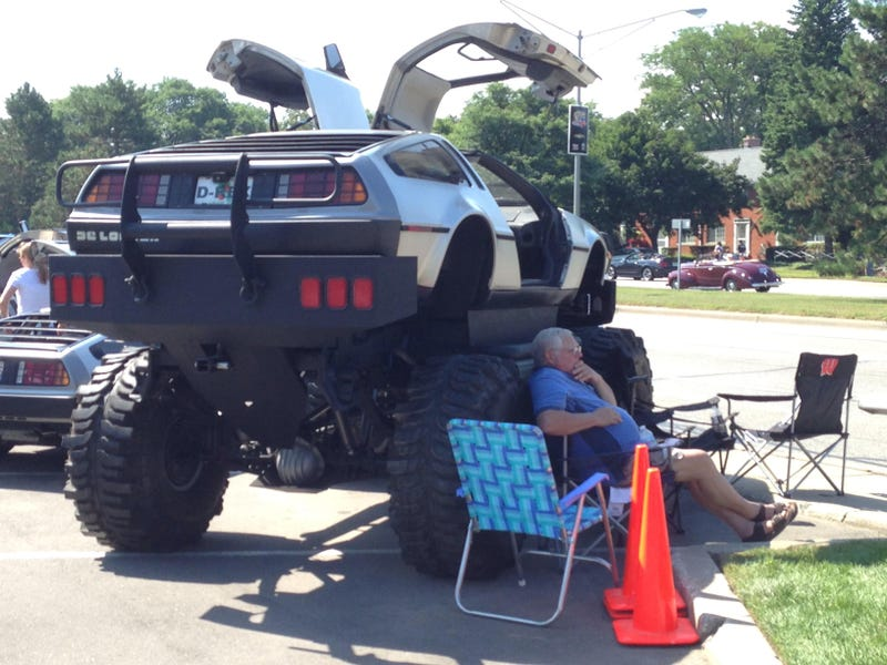 Here S A Lifted Delorean For You