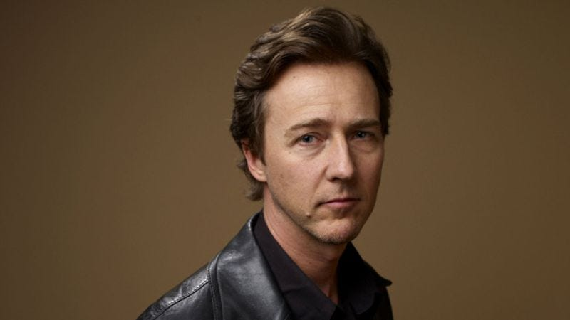 Illustration for article titled Edward Norton