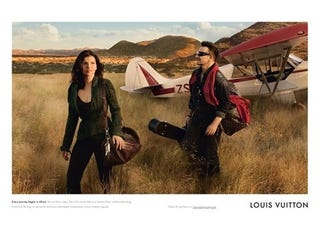 Illustration for article titled Ubiquitous Bono Models For Vuitton With Wife Ali Hewson