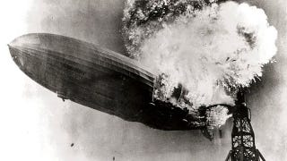 Illustration for article titled The Hindenburg Wasn't The First Experimental Airship To Explode