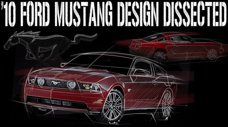 Illustration for article titled 2010 Ford Mustang: Design, Dissected