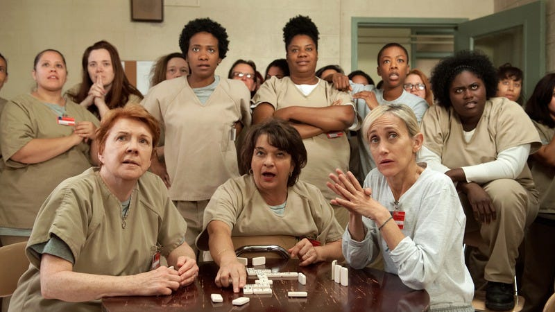 The cast of Orange Is The New Black