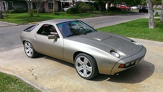 Somebody Built A Toyota V12 Powered Porsche 928 In A Shed