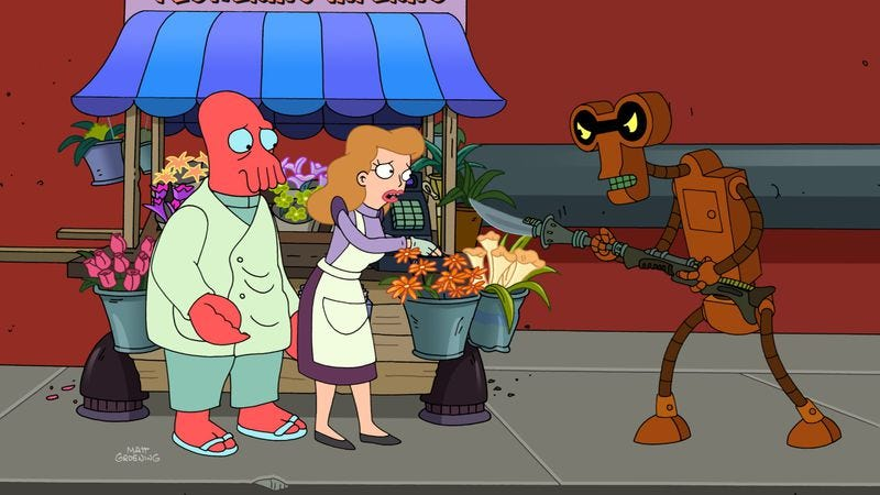 """Illustration for article titled Futurama: """"Stench and Stenchibility"""""""
