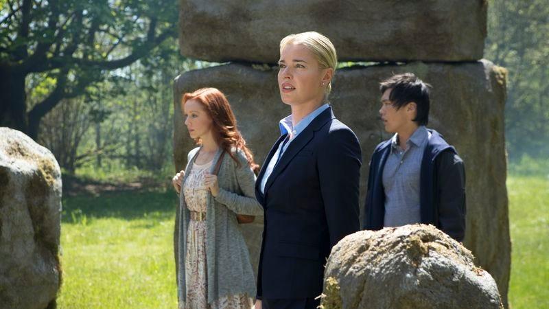 Lindy Booth, Rebecca Romijn, John Kim