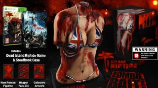 Illustration for article titled This Game's Special Edition Comes With A Statue Of A Bikini-Clad, Severed Female Torso