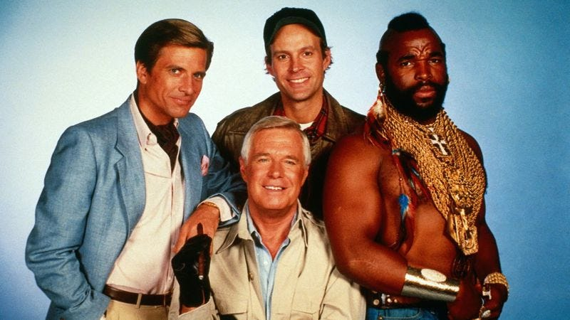 Illustration for article titled Fox loves it when a remake of The A-Team comes together
