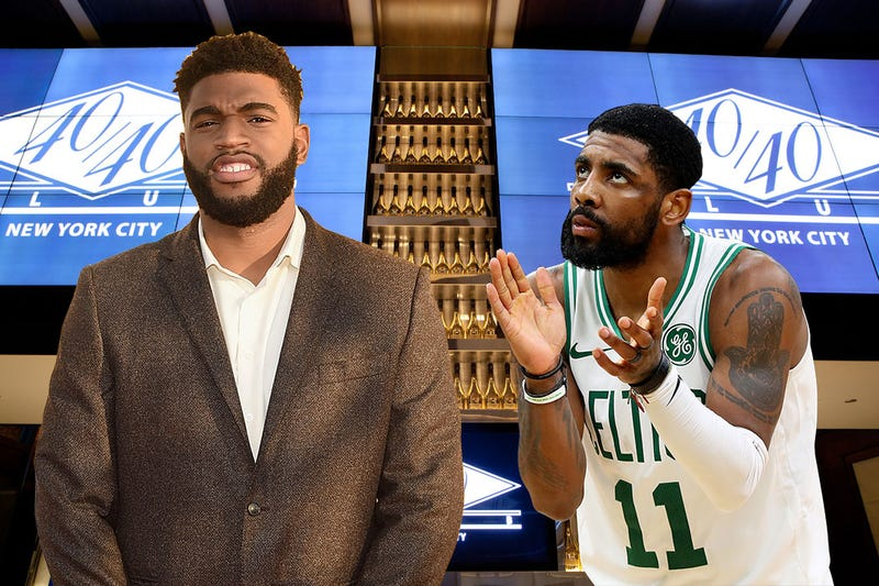 Illustration for article titled Was Kyrie Irving At The Club With Nets Reserve Alan Williams? [Update]