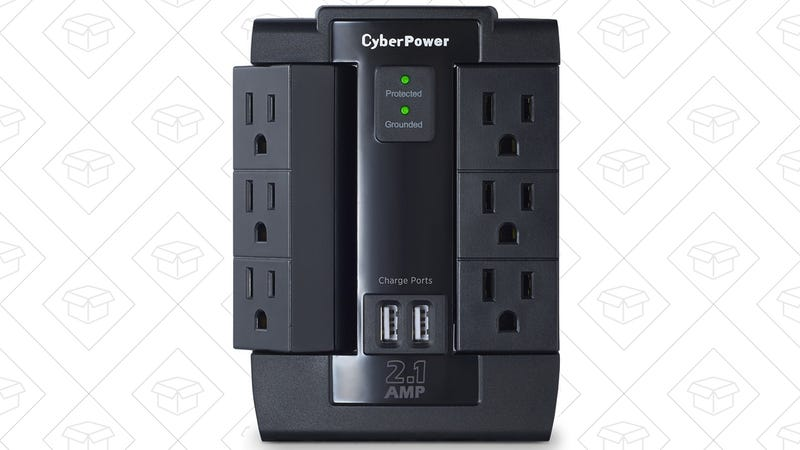 CyberPower Swivel Surge Protector, $10