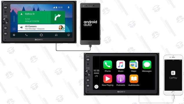 Add CarPlay and Android Auto To Your Older Vehicle For $348