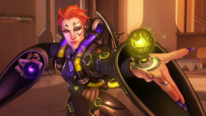 Illustration for article titled Overwatch's New Hero Moira Is A Blast To Play, But Comes With A Learning Curve