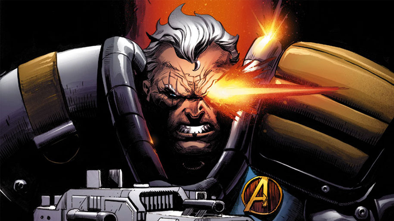Cable makes his debut in Uncanny Avengers #2. Art by Ryan Stegman.