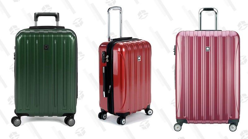 Delsey Paris Luggage Gold Box   Amazon