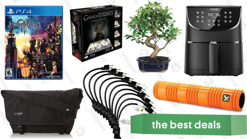 Illustration for article titled Sunday's Best Deals: Kingdom Hearts, Mother's Day Books, iPads, and More
