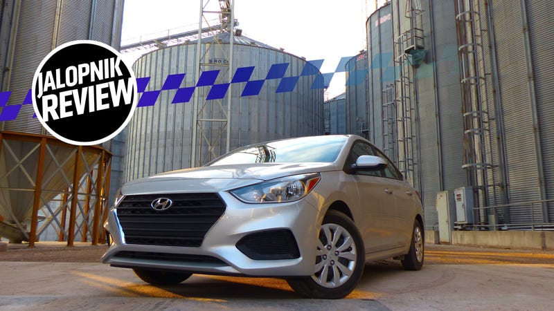 A Manual Transmission 2018 Hyundai Accent Is A Good Amount