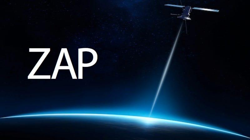 Illustration for article titled NASA's Testing Laser Internet. In Space. Laser. Space. Internet.
