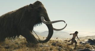 Illustration for article titled Global warming started 15,000 years ago with uncontrolled mammoth hunting