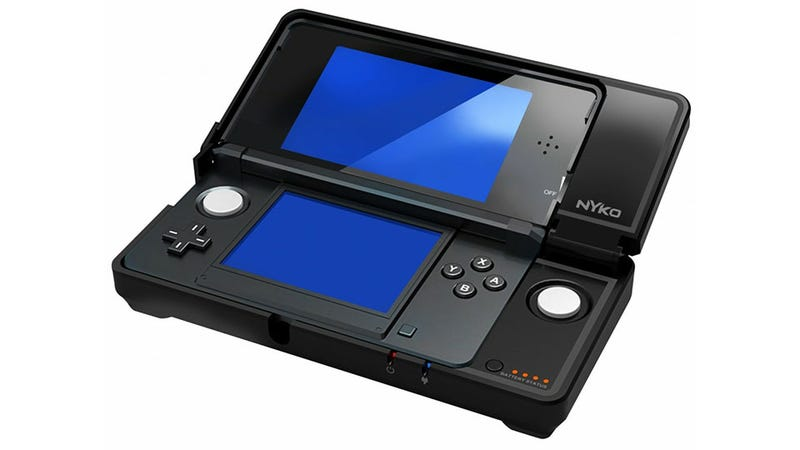 Illustration for article titled The 3DS' Circle Pad Pro Gets a Very Attractive Makeover