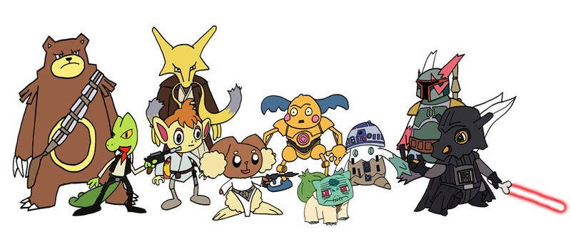 Illustration for article titled Star Wars: Attack Of The Pokémon