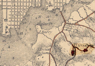 U.S. War Department map of the defenses of Washington, D.C.,1865Wikimedia Commons