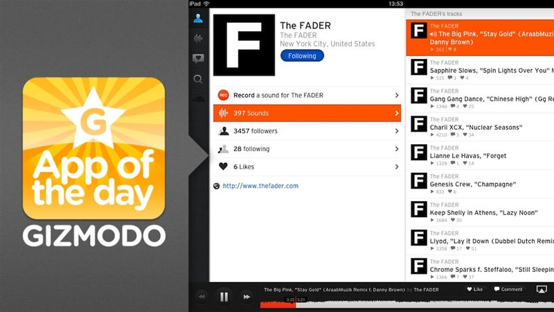 SoundCloud for iPad: An Amazing Way to Stay Up on the Newest