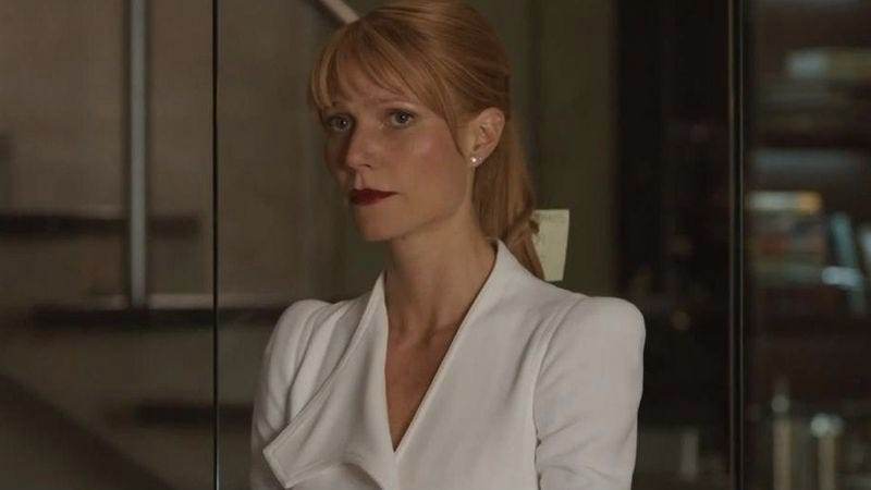Gwyneth Paltrow as Pepper Potts in Iron Man 3