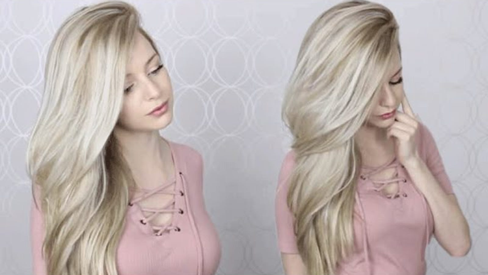 This Tutorial Teaches You To Blow Dry Your Long Hair For A