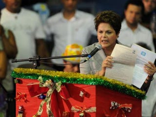 Brazilian President Dilma Rousseff (AFP/Gettiy Images)