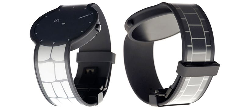 Illustration for article titled You Can Customize This E-Ink Watch Down to the Strap