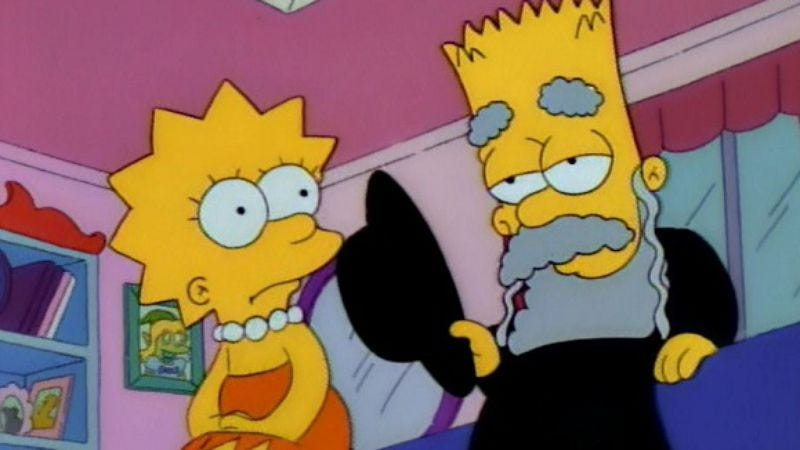 """Illustration for article titled The Simpsons (Classic): """"Like Father, Like Clown"""""""