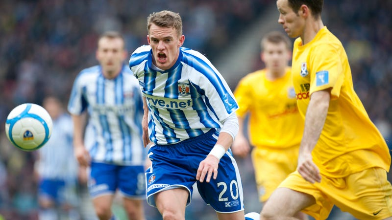 Photo of Dean Shiels as a Kilmarnock player: Rob Casey/Getty Images