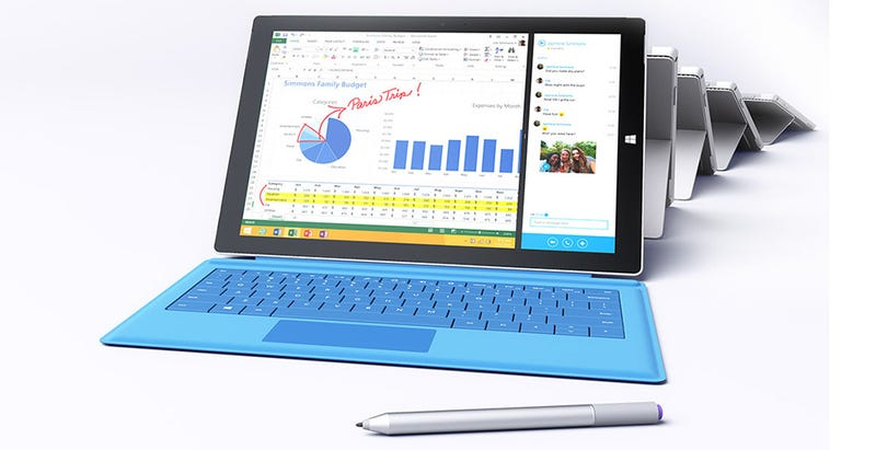 Illustration for article titled Surface Pro 3 frente a Surface Pro 2. ¿Qué cambia?